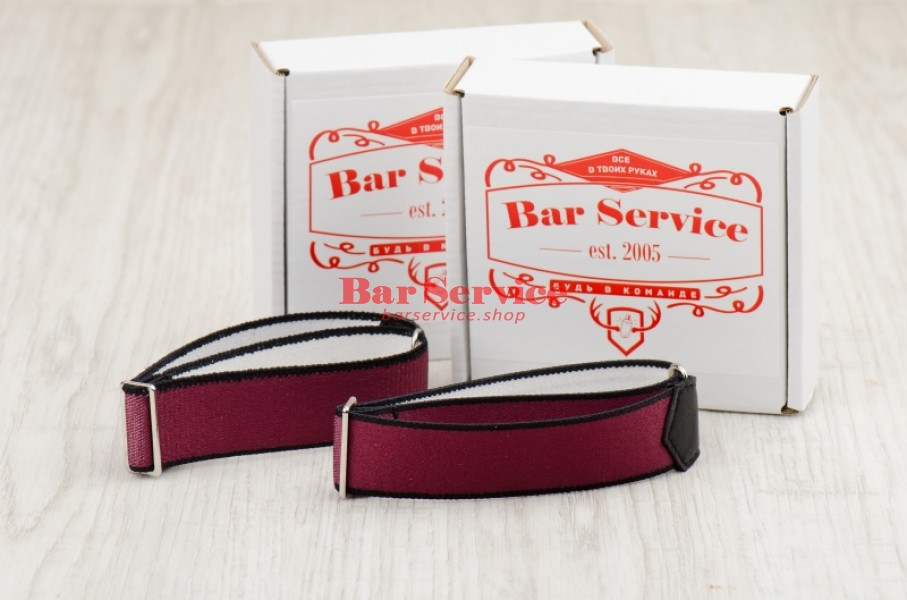 Армбенды, цвет бордо. Bar Service в Перми
