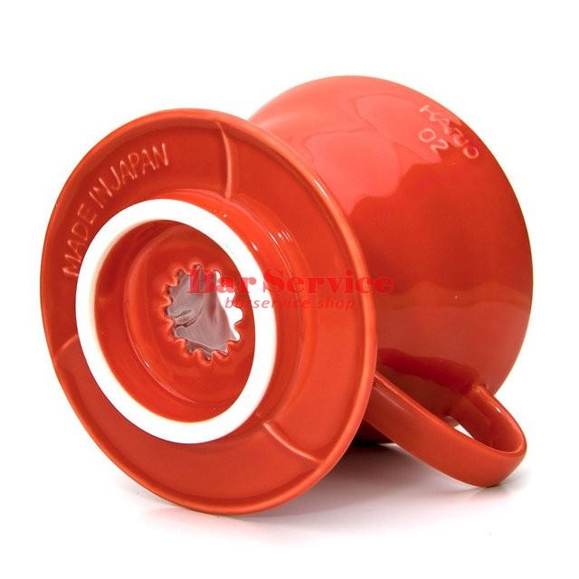 Hario VDC-02R. Воронка керамическая красная. 1-4 чашки в Перми