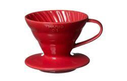 Hario VDC-02R. Воронка керамическая красная. 1-4 чашки в Перми right